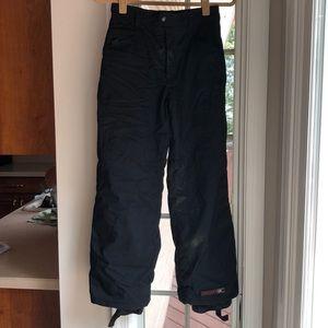 Spyder brand kids snow pants - Black - Size 14